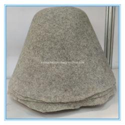 최고 품질 100% Wool 펠트 모자 바디 및 블렌드 컬러