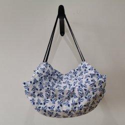 Imprimindo um design especial Dobragem fácil Sacola de Compras Tote Bag para Dom