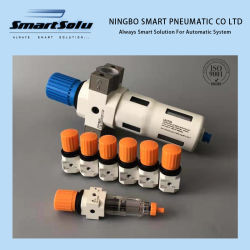 Source d'air pneumatique Composantes du traitement de l'air et filtre à air du régulateur