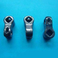 Parti di ceramica nere su ordine dell'ossido di zirconio di alta precisione