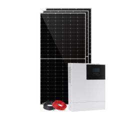 نظام اللوحة الشمسية لتوليد الطاقة الشمسية بقدرة 1 كيلووات 3 كيلووات 6 كيلووات