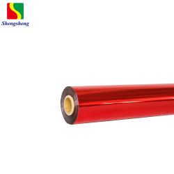 Rode Hete het Stempelen van het Huisdier Folie voor het Plastiek van het Document dat op Film BOPP wordt gebruikt