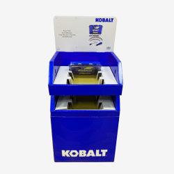 자동 차 담합 소매 기계설비는 부속품 전람 마분지 깔판 진열대 카운터를 도구로 만든다