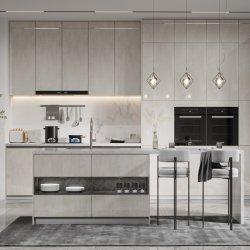 Светло-серый Holike кухонным шкафом глянцевая