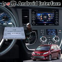 Interfaccia Android di percorso dell'automobile di Lsailt video per il tocco 3 Panasonic Fujitsu pionieristico delle terre di Siena di Toyota