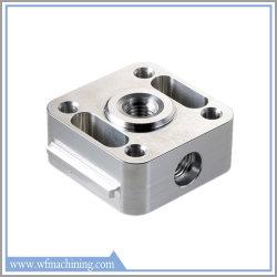 Liga de alumínio usinado com precisão personalizada máquinas Parte de usinagem CNC