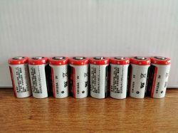 Faible taux d'Self-Discharge CR123A de la batterie lithium-manganèse
