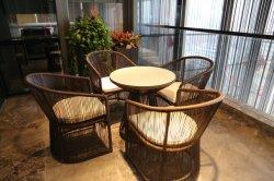 China-moderner im Freienpatio-runder Tisch und Stuhl-Garten-Möbel