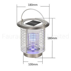 앤티 무스티크 마타 모스키토 충전식 전기 플라이 타프 트래퍼 모기 킬러 램프 LED 솔라 모스키토 킬링램프