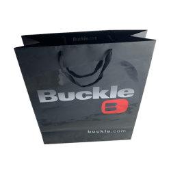 Bolsas de ropa al por mayor bolsos de prendas de vestir bolsa de papel de alta calidad