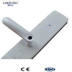 スマートな電子ドアロック、指紋ロック、パスワードまたはBluetooth/Keys/APP/Cardロック