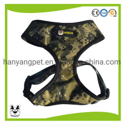 Vest van het Huisdier van de Uitrusting van de Hond Meash van de Camouflage van de douane het Openlucht In te ademen