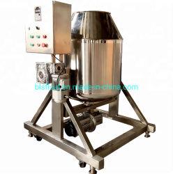 ステンレス鋼360度の乾燥した粉の回転式ドラムミキサー