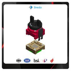 Interposeur personnalisé BGA100 IC Socket avec couvercle amovible 14x18mm