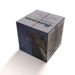 3D promocionais personalizadas magnético dobrável de Publicidade Magic Photo Cube Puzzle Brinquedos