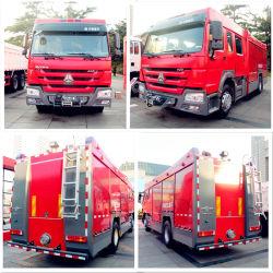 중국 제조업체 프라임 고품질 Sinotruk HOWO Rescue Escape Emergency 워터 폼 파이어 엔진 4x2 워터 파이어 트럭 파이팅 트럭