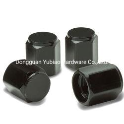 CNC 가공된 육각 범용 폴리쉬 알루미늄 타이어 밸브 스템 캡