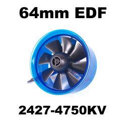 Edf Plus HL6408 2427-4750Moteur Brushless kv 64mm Fed canalisés Système d'alimentation du ventilateur