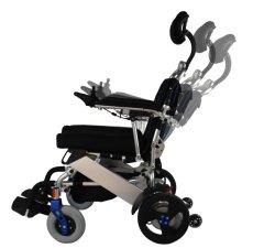 Discapacitados de energía portátil plegable de acero ligero de peso ligero de aleación de aluminio plegable Electric Dyn PF200 Batería de litio Silla de Ruedas con Ce & ISO