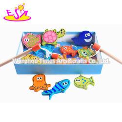 تصميم جديد التظاهر لعب ألعاب صيد خشبية للأطفال W01A359