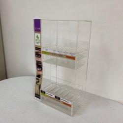 LED 담배 디스플레이 스탠드 투명 아크릴 세면대 탑 핸드 롤링 담배 디스플레이