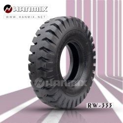 Hanmix를 타고 18.00-25 18.00-33 21.00-35 24.00-35 E4/L4 로더를 따라갑니다 도저 토스모버 그레이더 스크레이퍼 OTB 타이어 OTR 바이어스 타이어