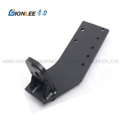 Rodillo frío personalizado de flexión de acero perforado de recubrimiento en polvo de soldadura de piezas metálicas