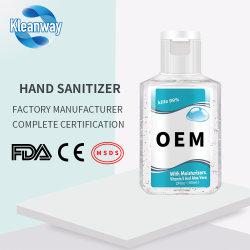 30ml de antibacteriële OEM van het Desinfecterende middel van de Hand Zeep van de Hand van Fabrikanten Vloeibare