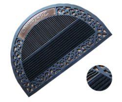 Custom logo imprimé le tapis de sol en caoutchouc Tapis d'entrée