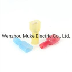 T Tipo fio eletrônico Conector Rápido Junção rápida prensar terminais conectores do fio