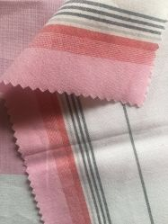 gefärbtes Gewebe der Baumwolle50s modales Garn im Streifen-Muster für Form der Damen