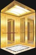 Ascenseur - Voiture de luxe gravé en titane