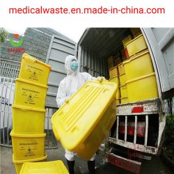 Os resíduos hospitalares de esterilizador de microondas com equipamento de desinfecção de eliminação dos resíduos infecciosos Biomédica 5
