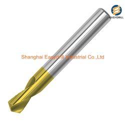 Trivello Stagno-Rivestito del punto del HSS per la perforazione concentrare del metallo
