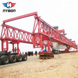 La construcción viga Puente Grúa de lanzamiento de viga de la máquina de la erección