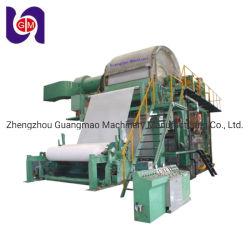 Machine à papier de tissus de papier toilette Making Machine Prix de gros rouleaux