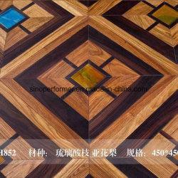 El Jade de mármol o mosaico de interior suelos de parquet