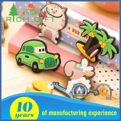 맞춤형 모양 및 3D 로고 고무 PVC 냉장고 자석 프로모션 선물