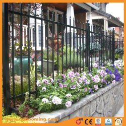Subir anti Ornamental Galvanizado en caliente antiguo jardín valla de seguridad