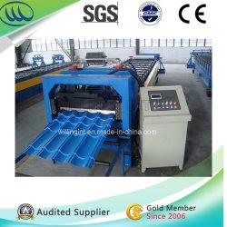 PPGI PPGL vitrage tuile de toit en acier machine à profiler Hangzhou