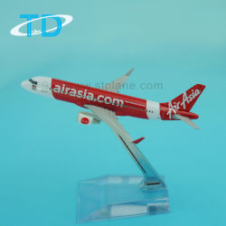 Air Asia A320neo 1/300 12cm petit avion de modèle de métal