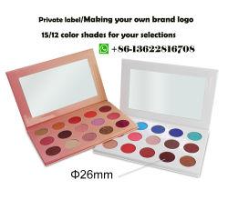 Fard à paupières sous étiquette privée 15 Color Palette maquillage Fard mat cosmétique