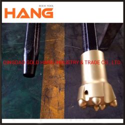 中国の工場は7度7ボタン石訓練ボタンビット穴あけ工具の先を細くした