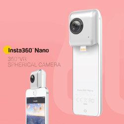 Insta360 с двумя объективами Vr панорамная камера для iPhone (nano)