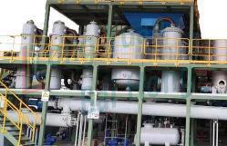 25t de residuos continua agrietamiento plástico neumático reciclado de destilación de petróleo de la destilación de plantas de pirólisis