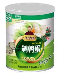 Marca Wangzhanggui Alimentos Verdes huevos de codorniz