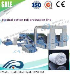 O algodão para fins médicos da Cruz na Web que a máquina/máquina de Distribuição Automática de algodão médicos para médicos de saúde de volta o equipamento de Algodão