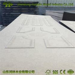 Taille standard bon marché de gros toilettes PVC Porte en bois de la peau