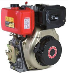 4 tiempos refrigerado por aire 4-10CV pequeño motor diesel (Horizontal)