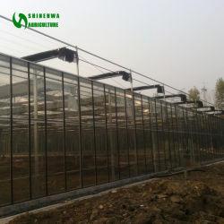 Long temps de service et à haute efficacité Greenouse de verre